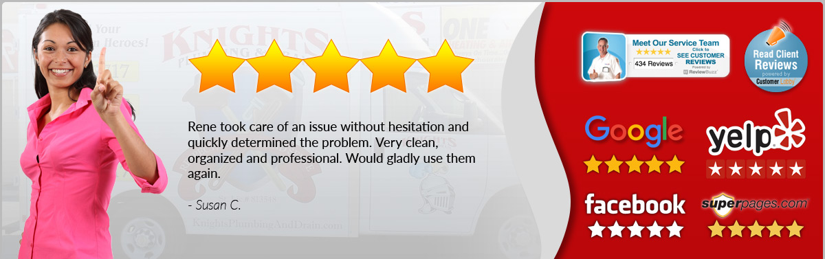 Susan Uses Knight Plumbing - Review
