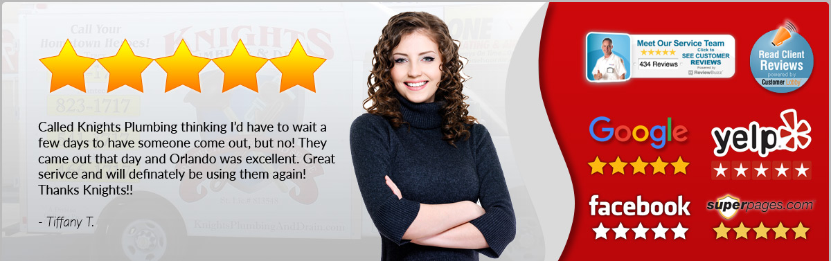 Tiffany Loves Knights Plumbing - Review
