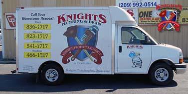 About Knights Plumbing & Drain - Modesto Plumber