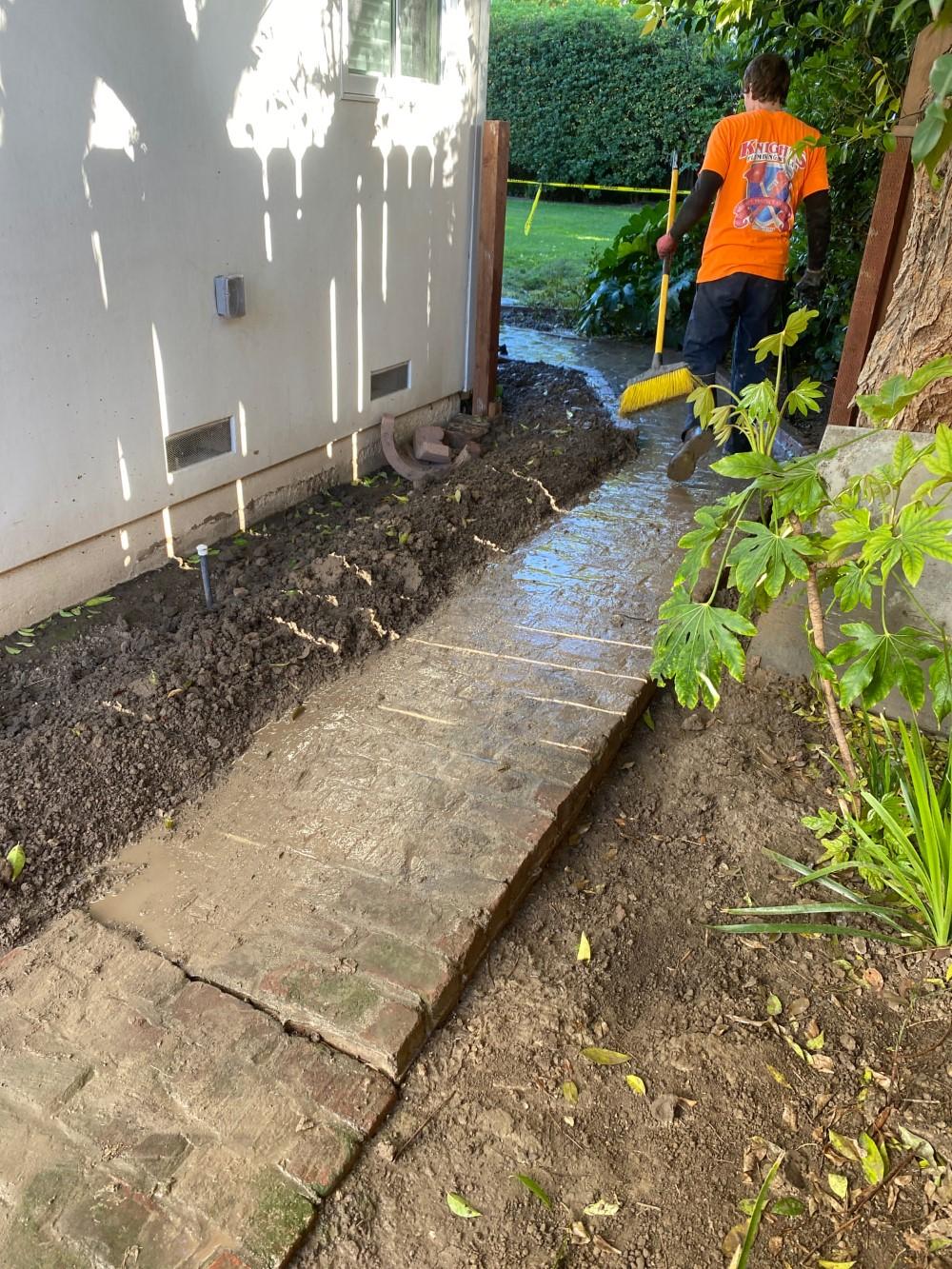 Broken Sewer Line in Tracy, CA