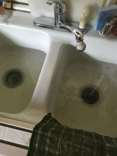 clogged sink drain repair in Stockton, CA