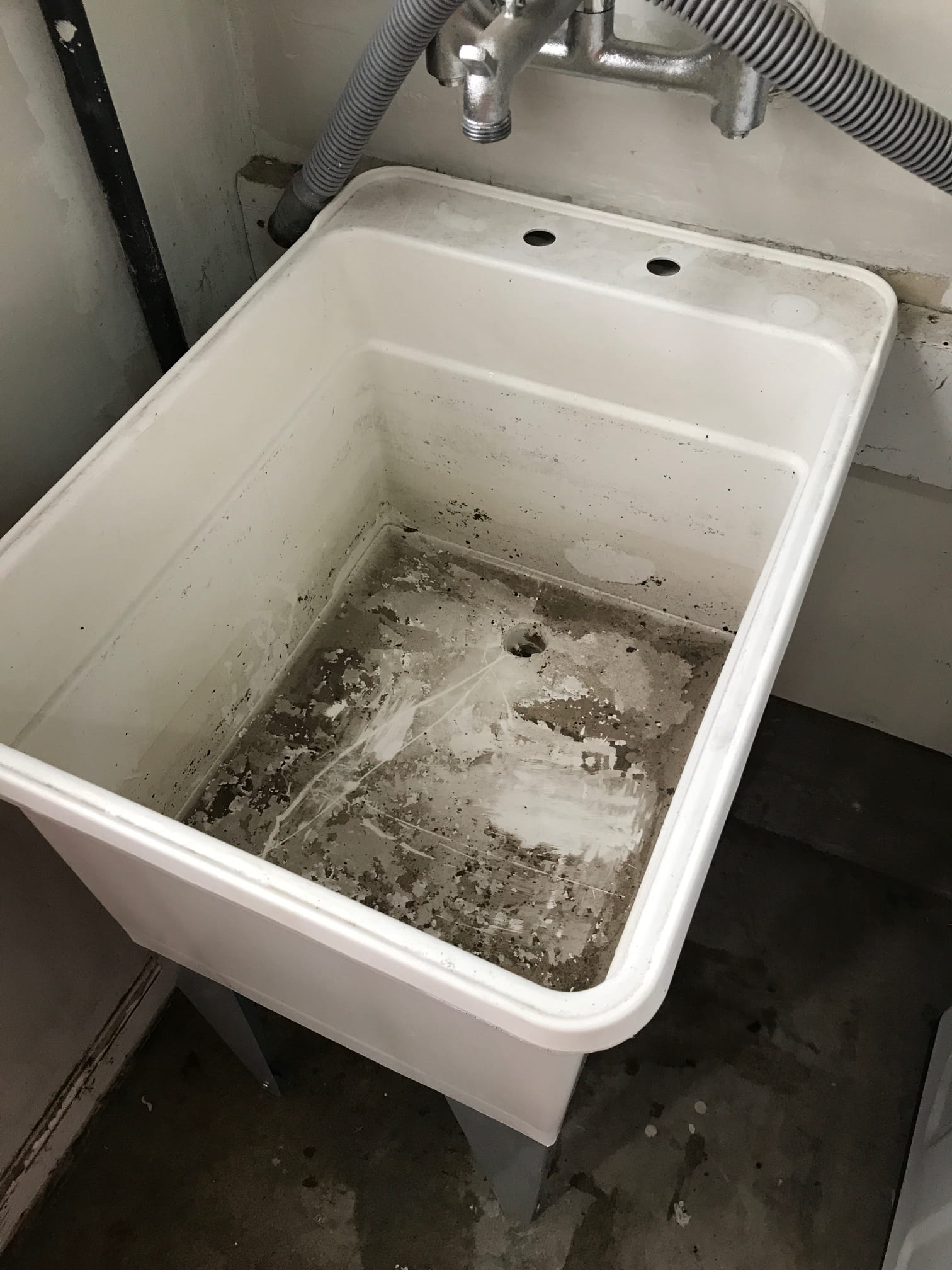 Clogged Utility Sink in Manteca, CA