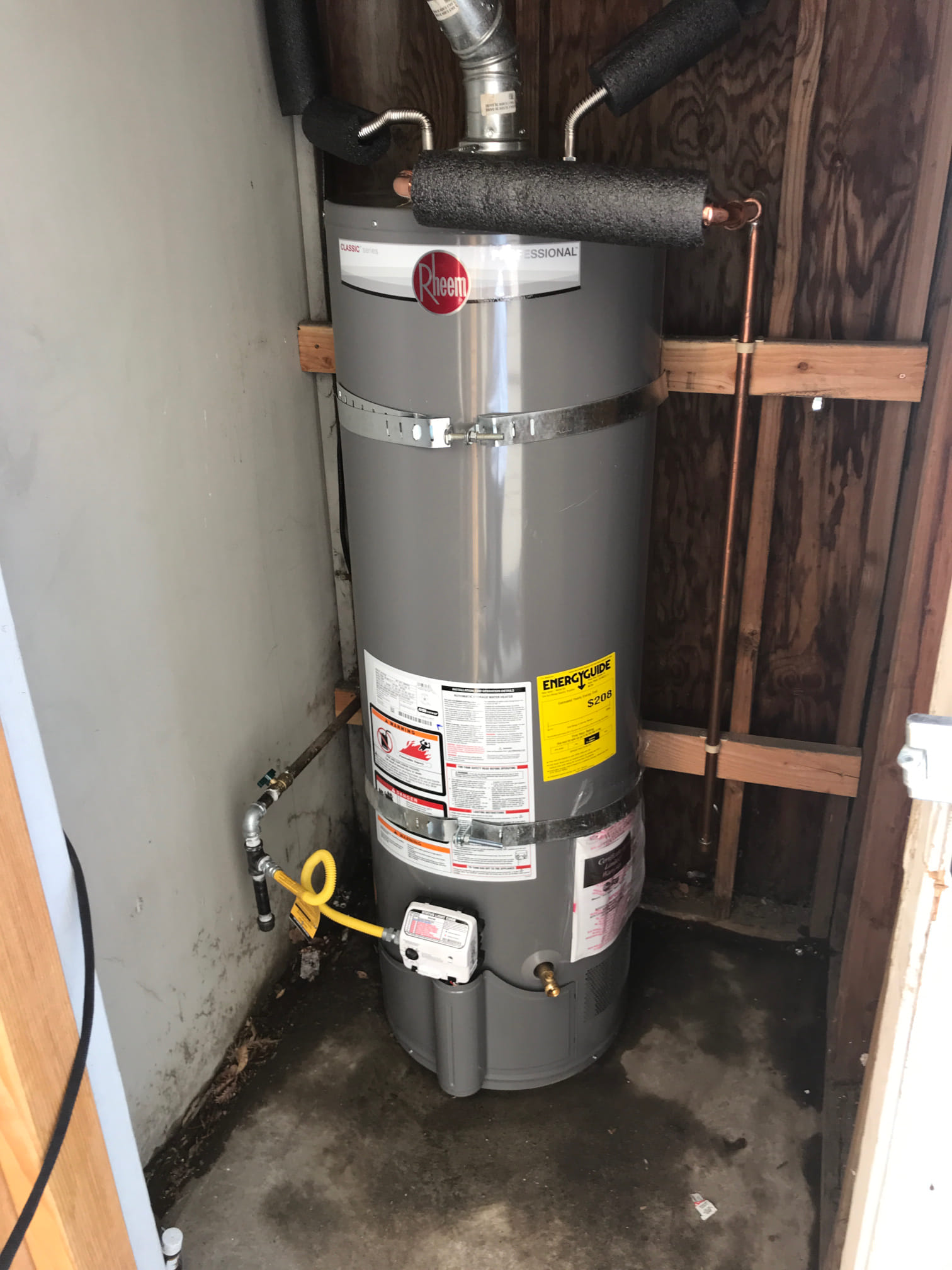 Hair Saloon Water Heater Replacemen in Tracy, CA