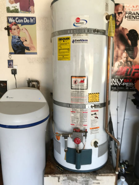 Leaking Water Heater in Manteca