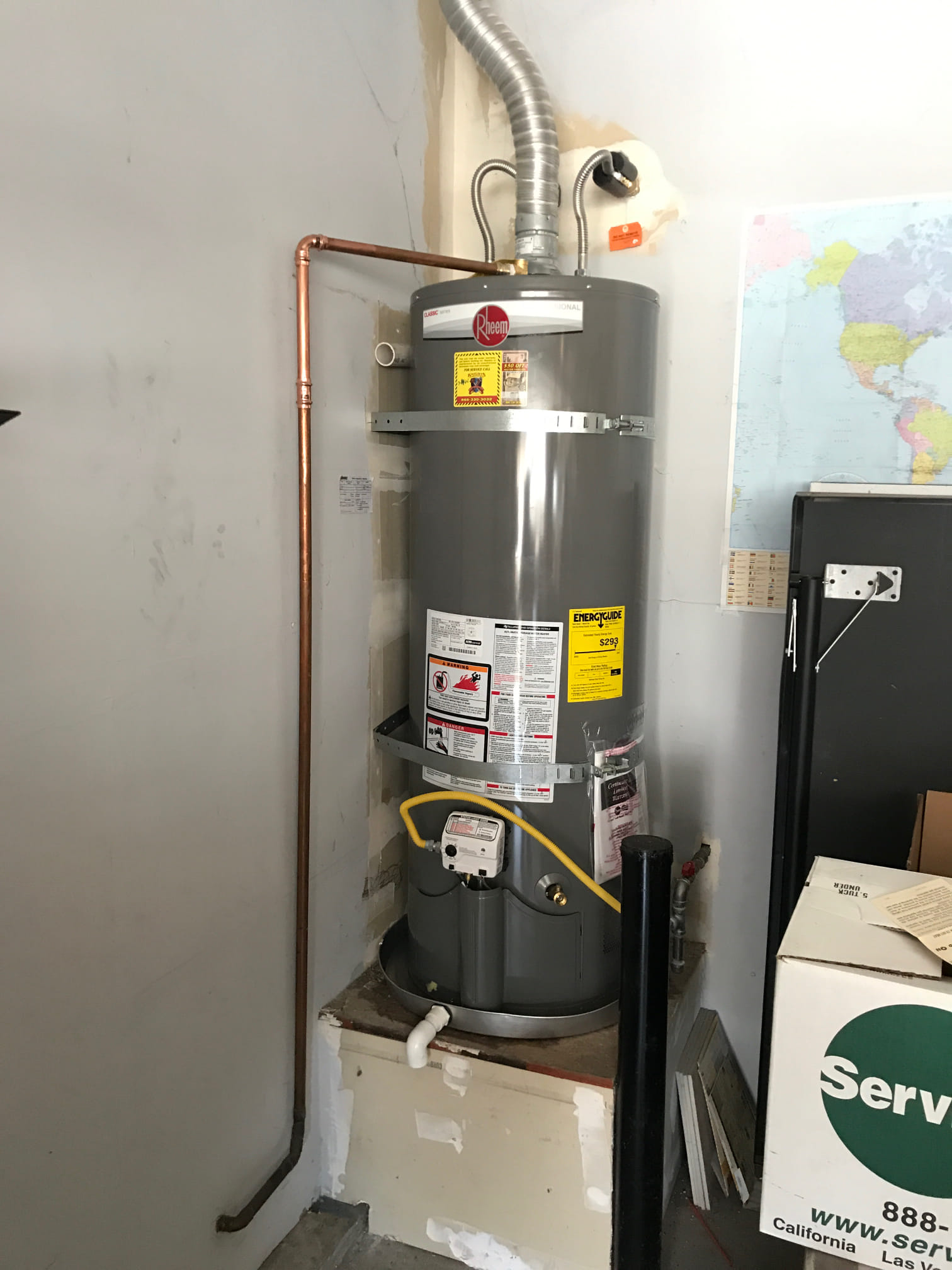 Leaking Water Heater Replacement - Stockton, CA