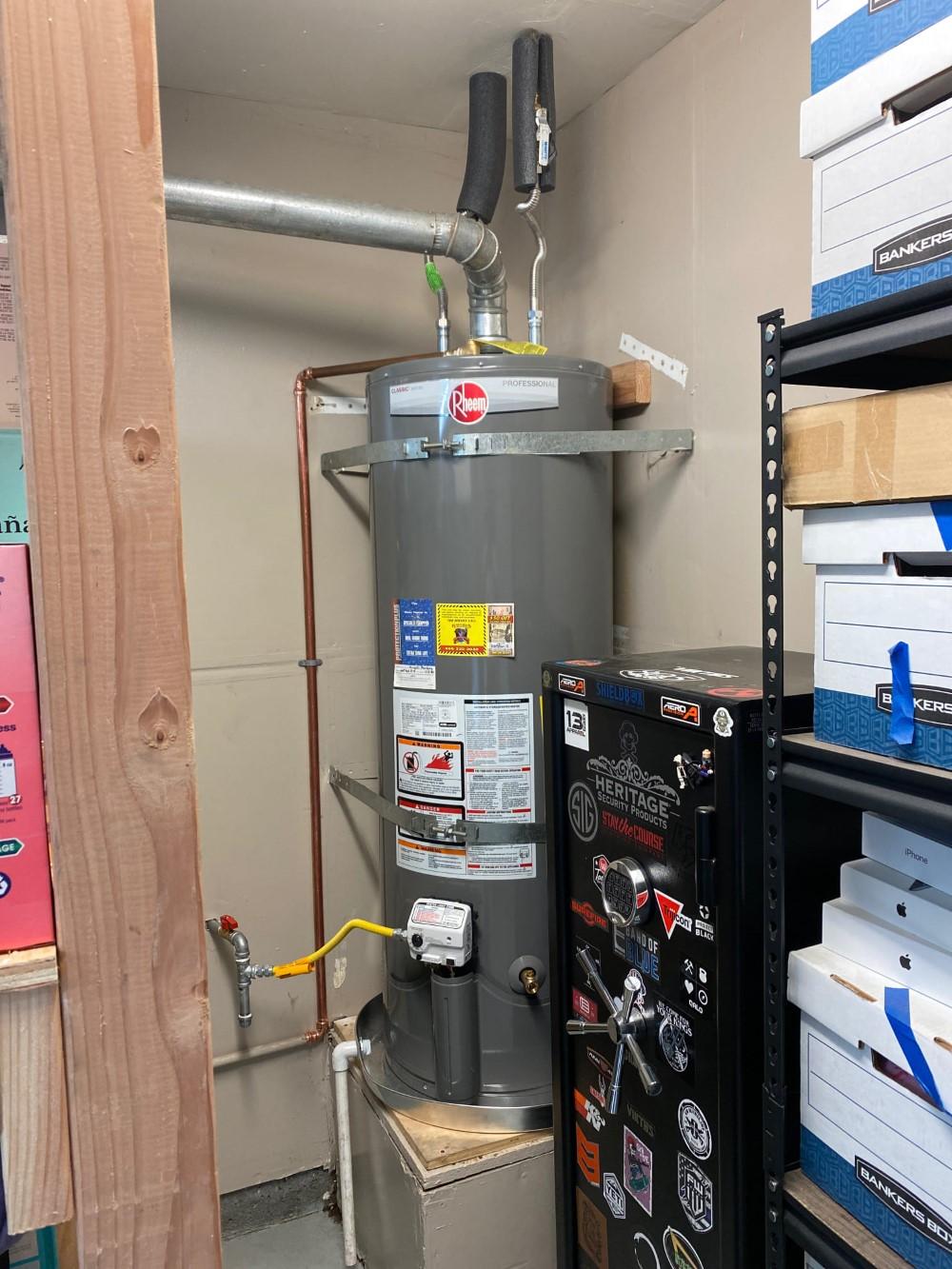 Leaking Water Heater in Tracy, CA