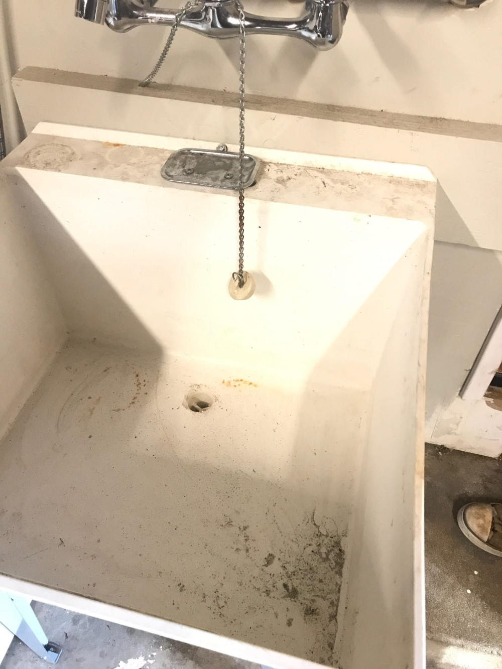 Laundry Drain Line Backing up in Modesto, CA