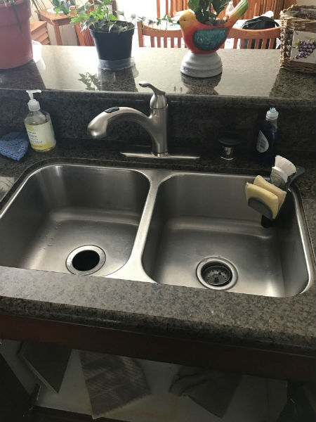 New Kitchen Faucet Installation in Manteca, CA