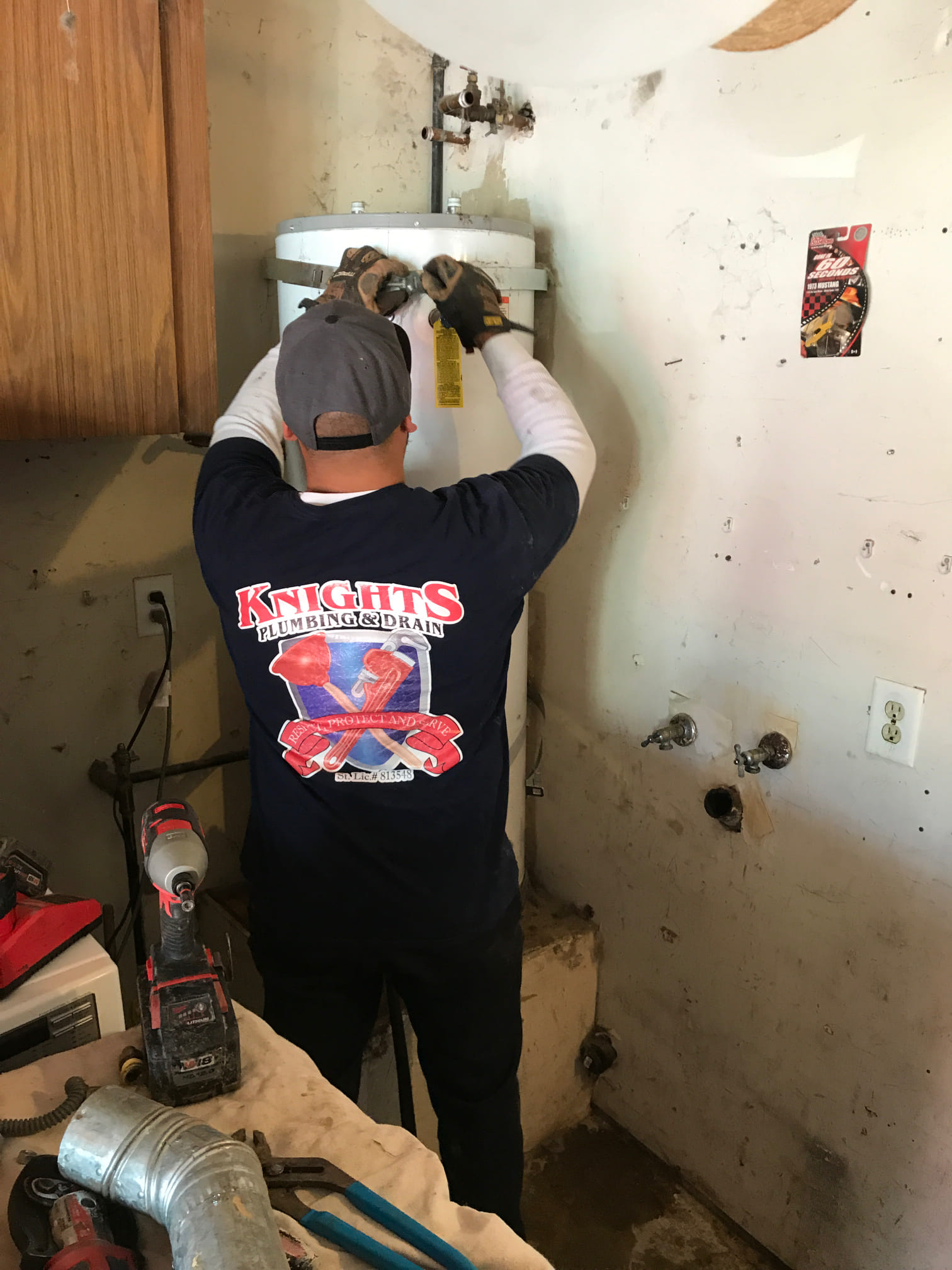 Old Water Heater Replacement in Stockton, CA