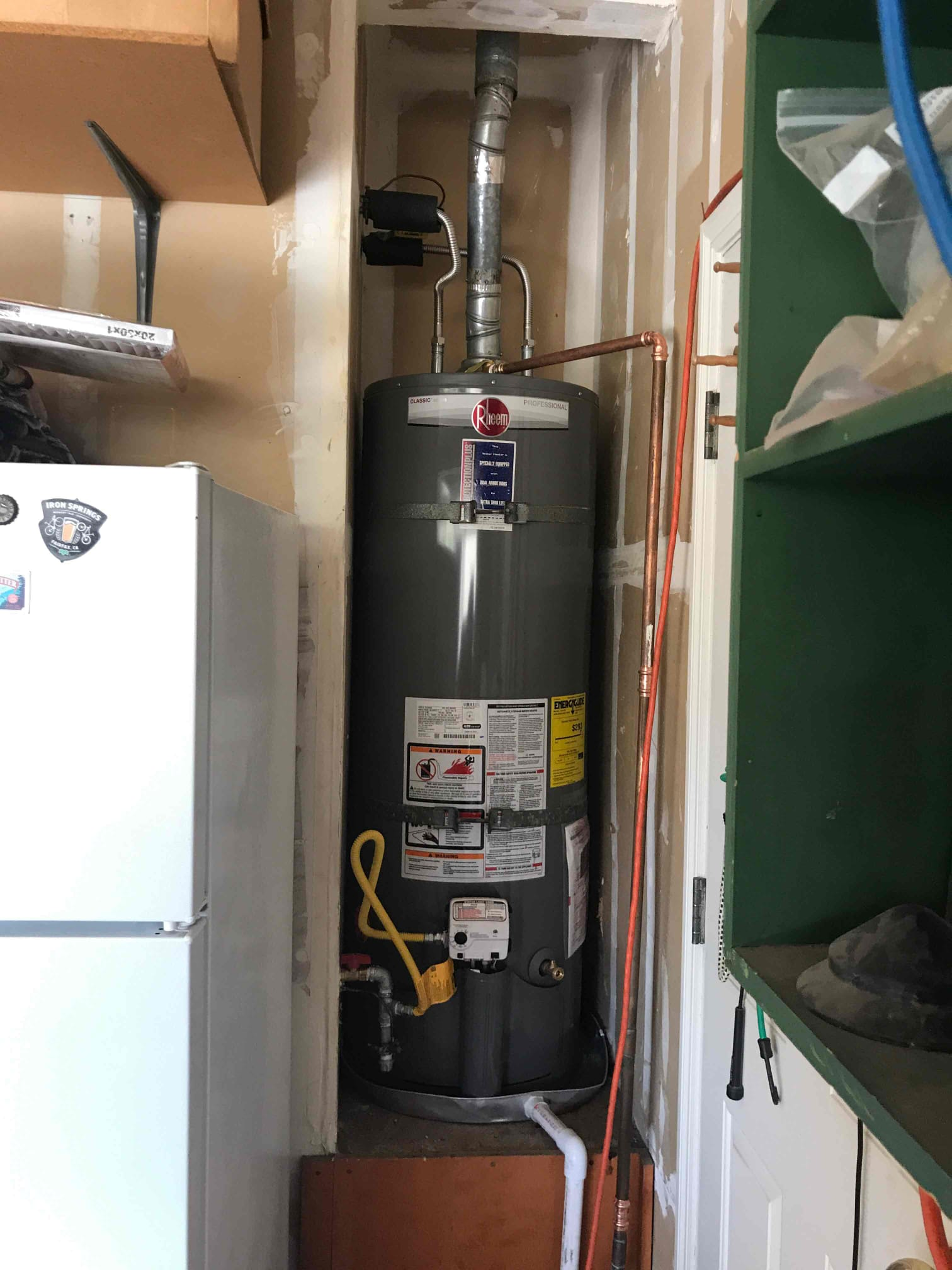 Older Water Heater Replacement in Tracy, CA