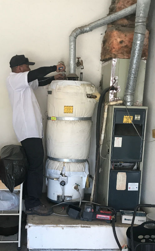 Stockton, CA Water Heater Replacement