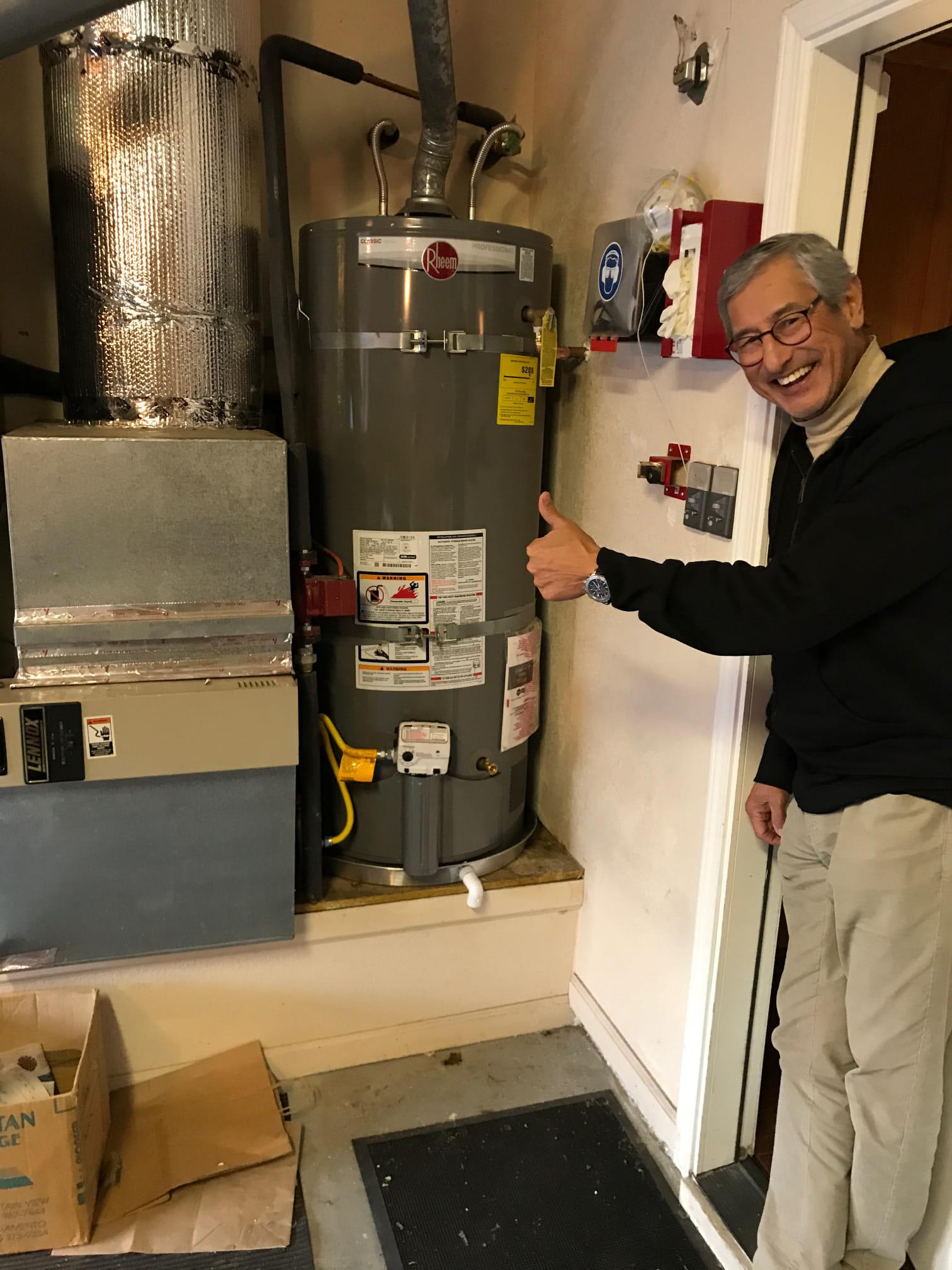 50 Gallon Water Heater Replacement Stockton, CA