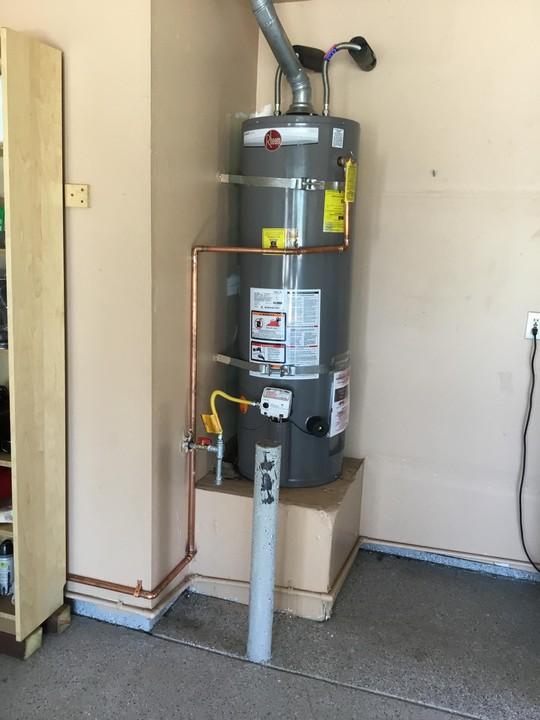 Water Heater Install in Manteca, CA