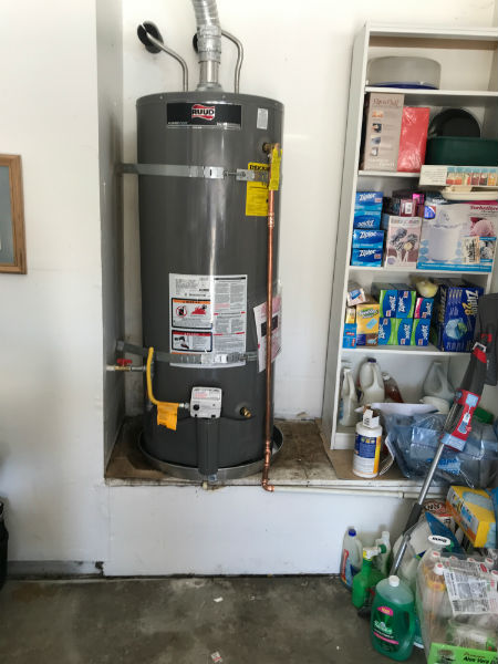 Water Heater Installation in Tracy, CA