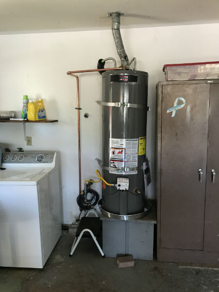 Water Heater replacement modesto, CA