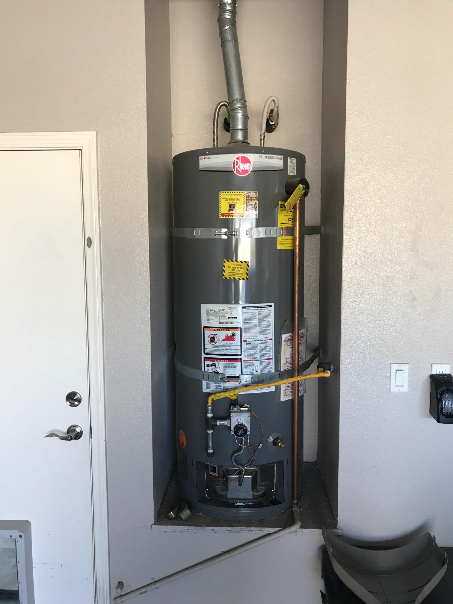 Water Heater Warranty Repair in Manteca, CA